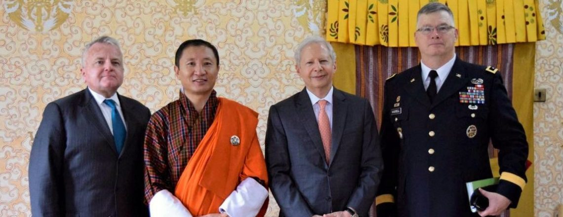 Deputy Secretary of State Sullivan and Ambassador Juster in Bhutan