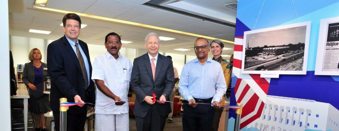 Ambassador Juster Commemorates People-to-People Connections in Chennai