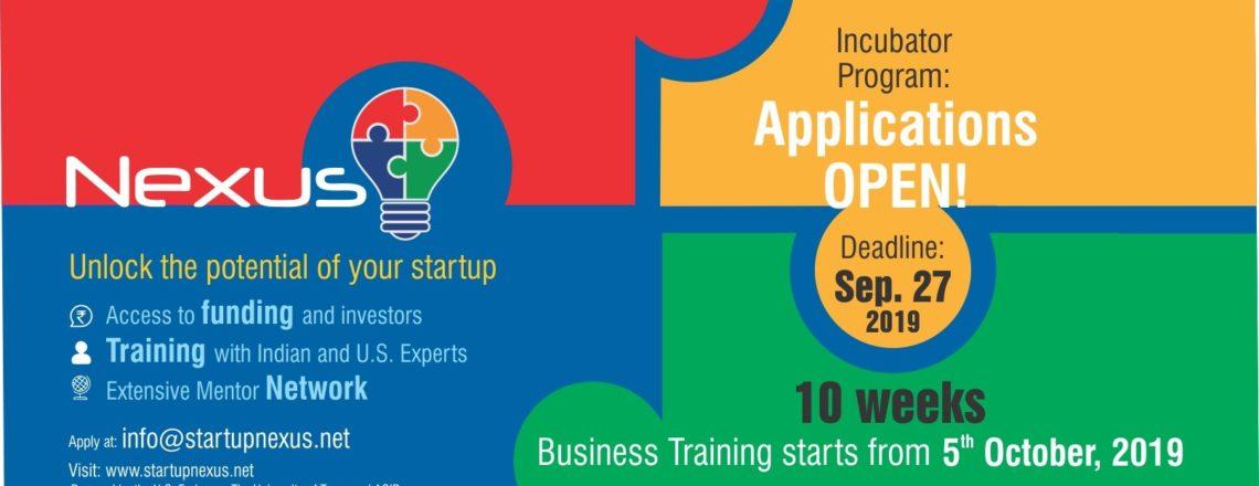 Nexus Delhi Accepting Applications for its 8th Cohort