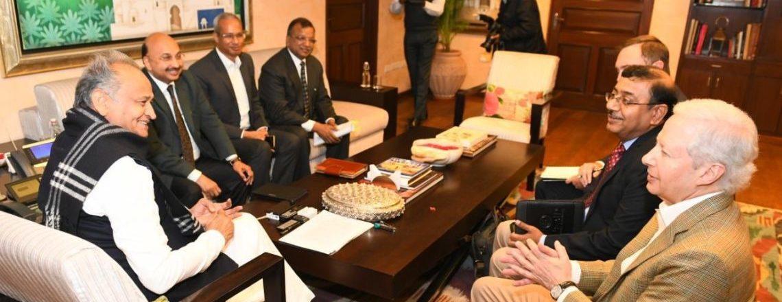 राजदूत जस्टर ने राजस्थान का दौरा किया