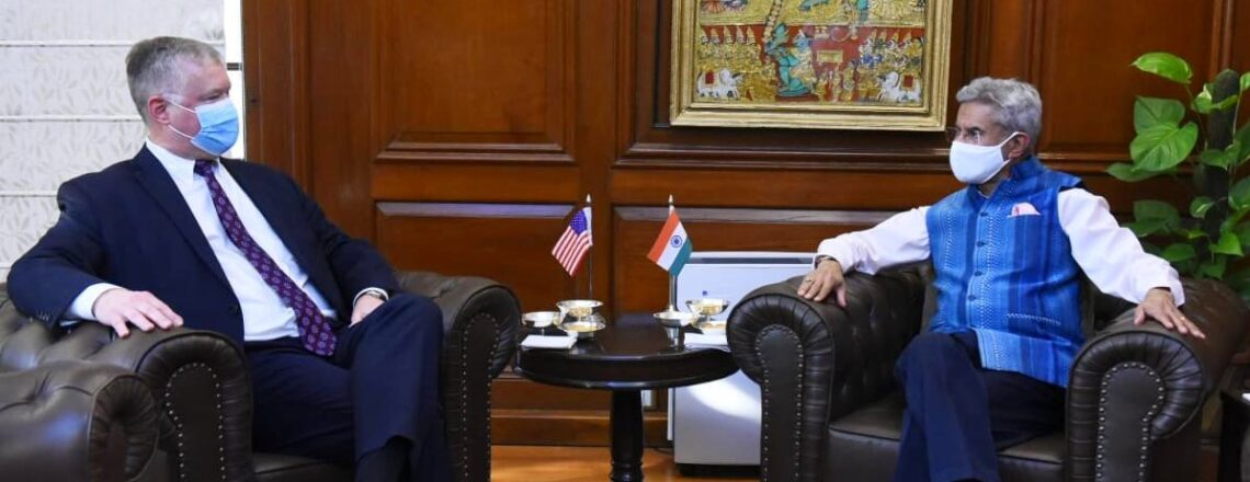 Deputy Secretary Stephen E. Biegun Visits India