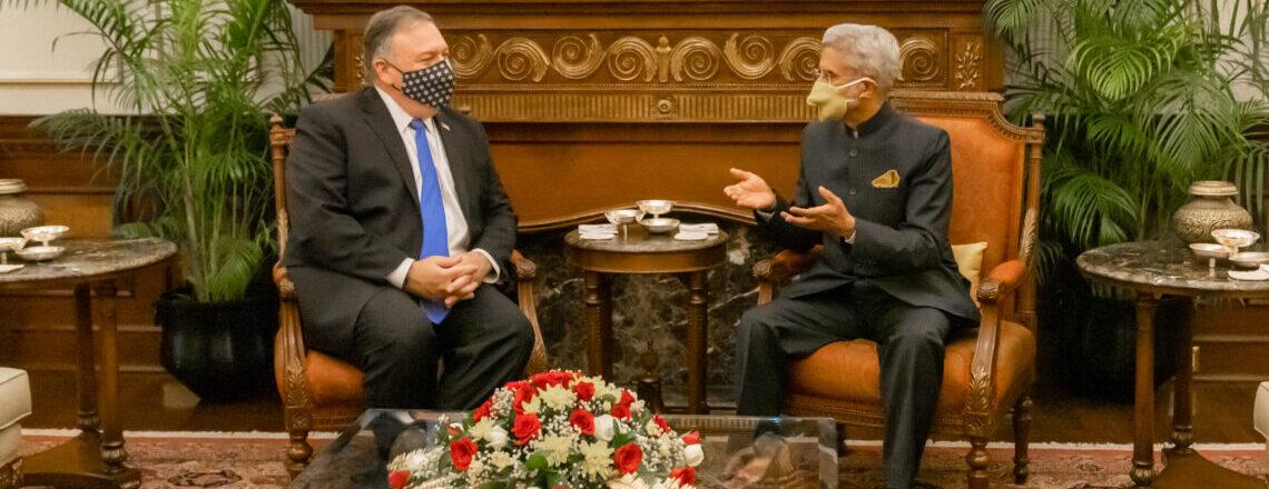 Secretary Pompeo Meets Indian External Affairs Minister Jaishankar