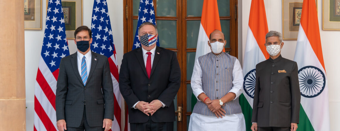 U.S.-India 2+2 Ministerial Dialogue