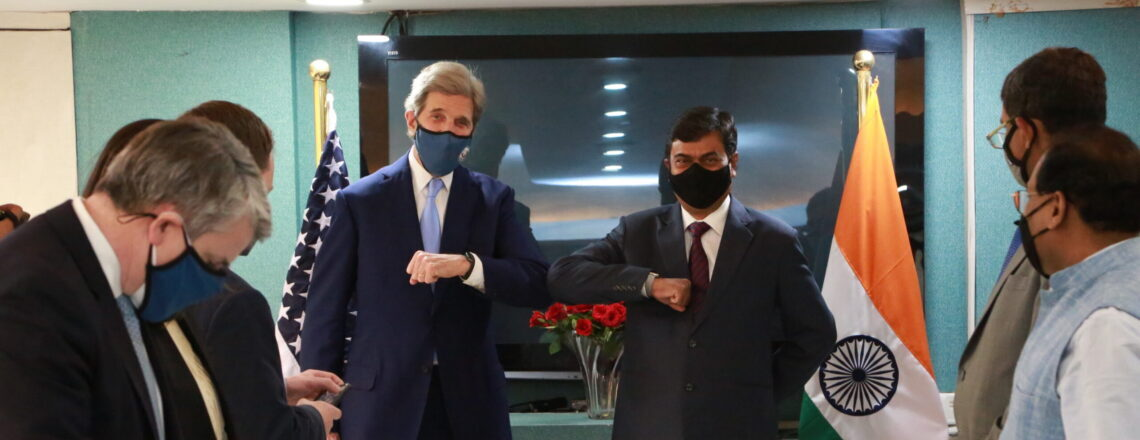 Special Presidential Envoy for Climate John Kerry in India
