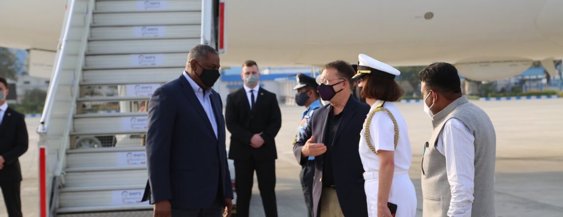 Secretary of Defense Lloyd J. Austin III's Visit to India