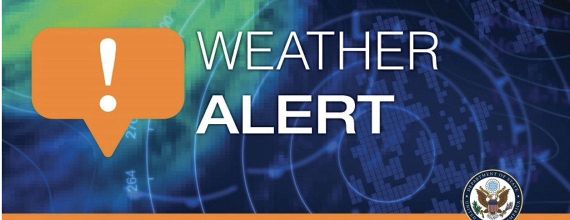 Weather Alert – Cyclonic System Development December 1, 2020