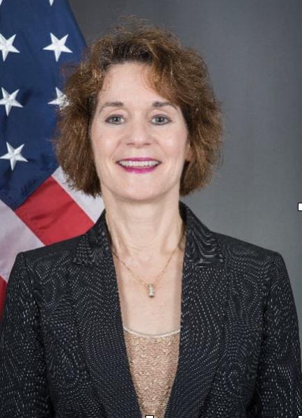 Photo of Chargé D'Affaires Patricia A. Lacina