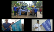 """In a virtual ceremony with senior Indian Coast Guard Officials, Acting U.S. Consul General in Chennai Kathryn Flachsbart flagged off the """"turtle float,"""" which departed from the Tree Foundation office in Neelangarai, Chennai on Saturday, September 18, 2021."""