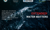 """Water Matters"" Exhibition in Chennai Extended to March 31"