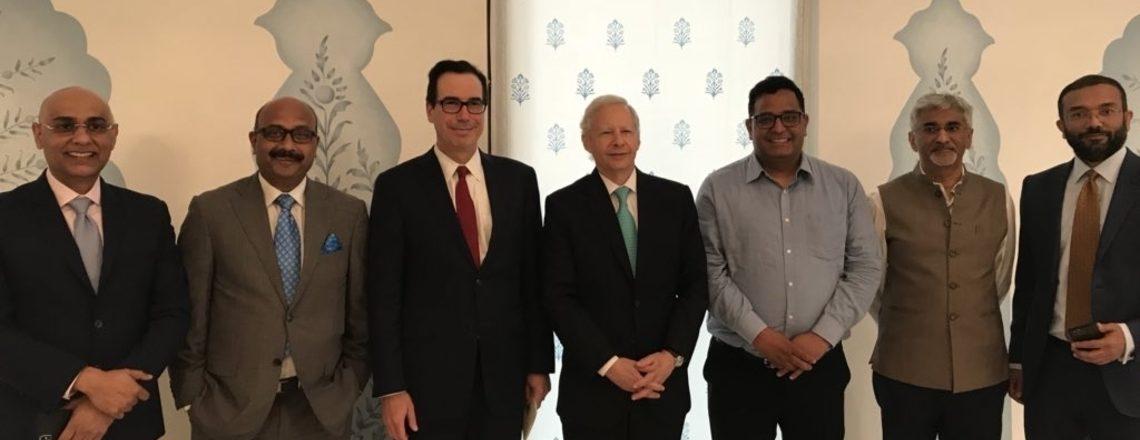 امریکی سکریٹری برائے خزانہ اسٹیون منوچن کا بھارت دورہ