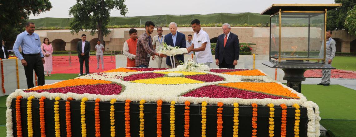 महात्मा गांधी की 150 वीं जयंती मनाई