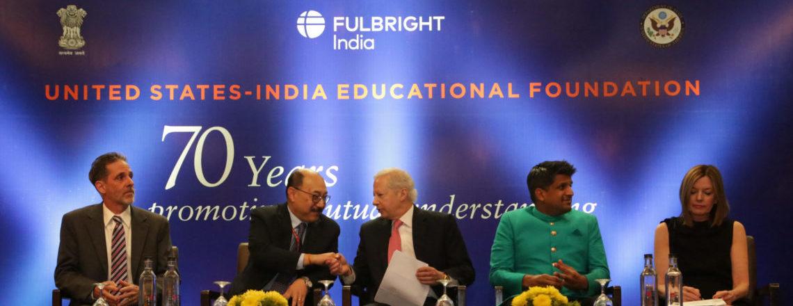 भारत में फुलब्राइट एक्सचेंज प्रोग्राम के 70 साल पूरे हुए