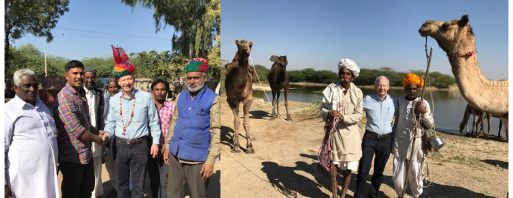 The journey across the picturesque state of #Rajasthan #USIndiaTourismYear2017