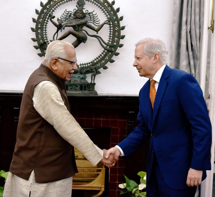 U.S. Ambassador to India, Mr. Kenneth I. Juster, visited Lucknow June 6-7