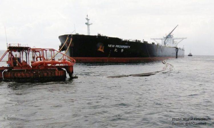 अमेरिकी कच्चे तेल की खेप भारत पहुंची (भारत पेट्रोलियम फोटो)
