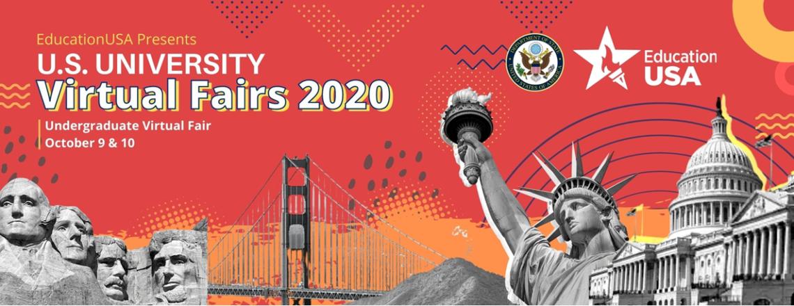 EducationUSA presents U.S. University Undergraduate Virtual Fair, 2020