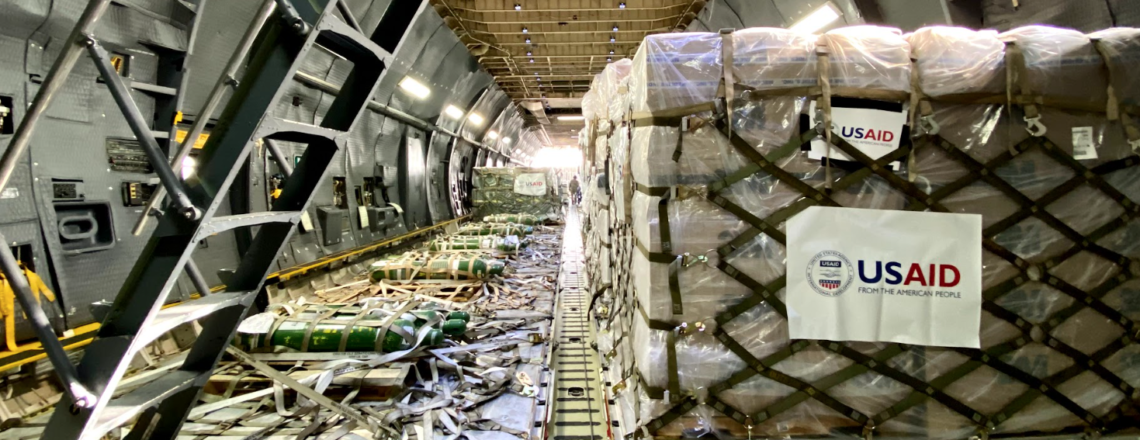 First of Several Emergency COVID-19 Relief Shipments from U.S. Arrives in India