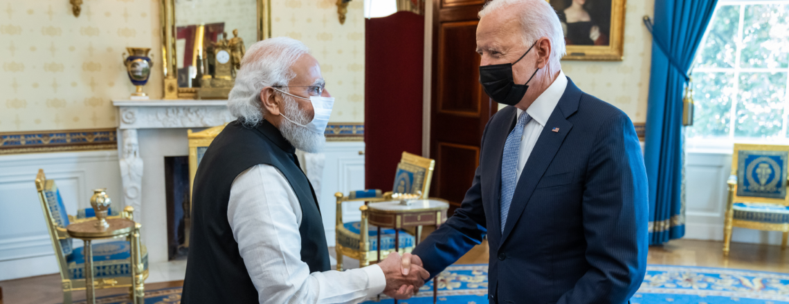 U.S.-India Joint Leaders' Statement: A Partnership for Global Good