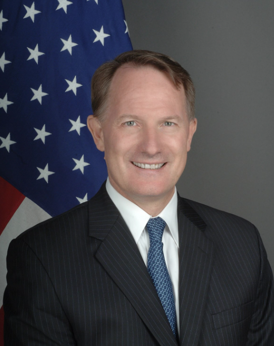 Photo of Chargé D'Affaires Daniel B. Smith