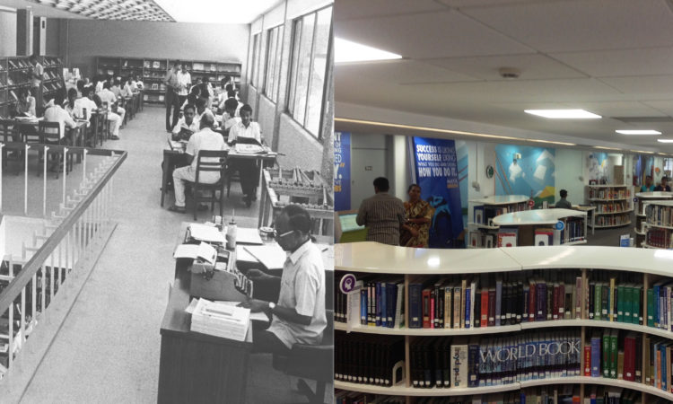 American Library Chennai then and now