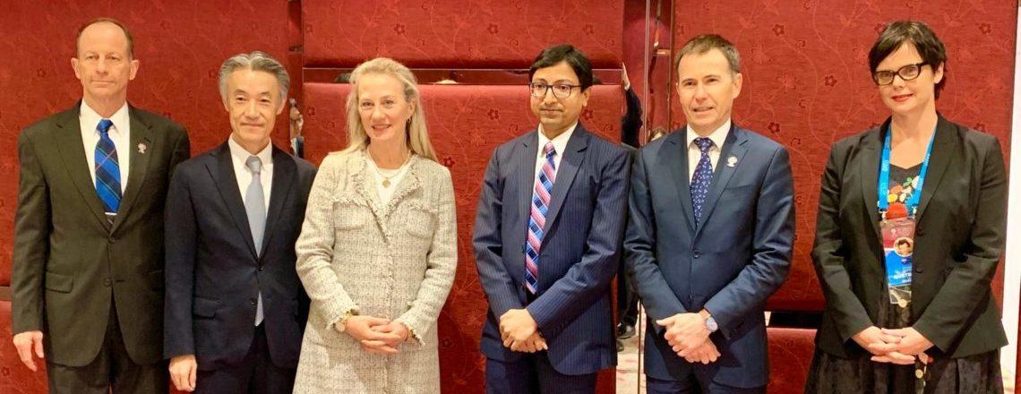 अमेरिका-आस्ट्रेलिया-भारत-जापान विचार-विमर्श (''द क्वाड'')