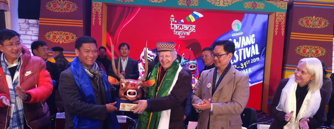 سفیر جسٹر نے تاوانگ فیسٹیول کے ساتویں ایڈیشن کا افتتاح کیا