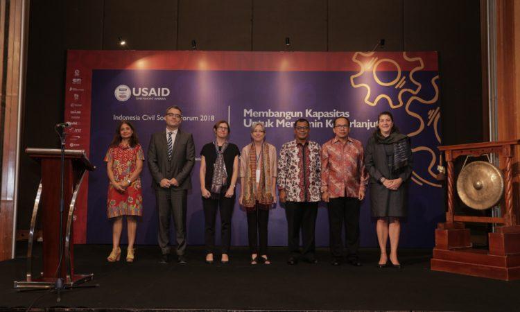 Forum Organisasi Masyarakat Sipil Indonesia 2018 Membangun Keterampilan dan Keberlanjutan (USAID)