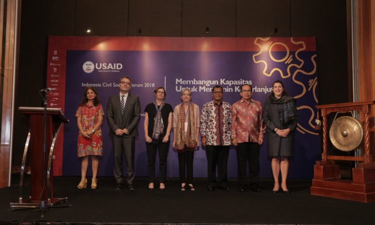 Indonesia Civil Society Forum 2018 Builds Skills and Sustainability (USAID)