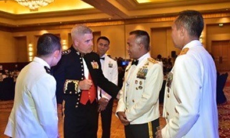 U.S. Marine Corps Celebrates 244th Birthday and 70-year Partnership with Indonesia