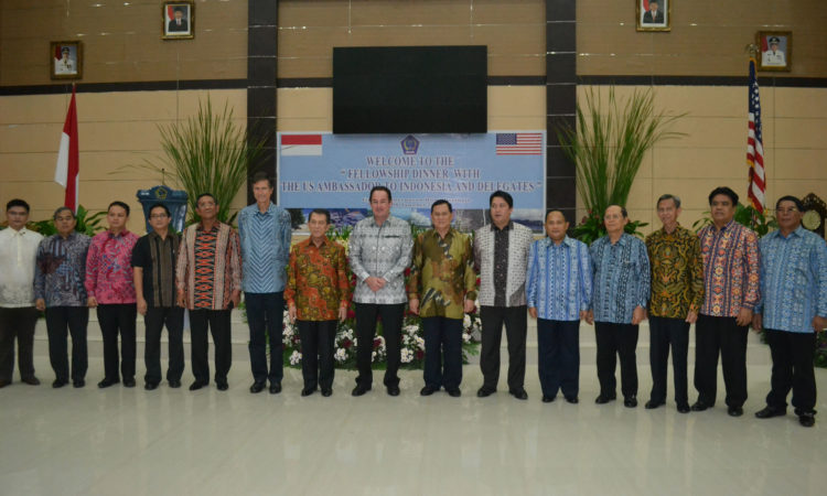 Ambassador Blake's Travel to North Sulawesi (State Dept.)
