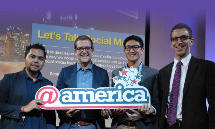 @america Meriahkan Social Media Week (@America)
