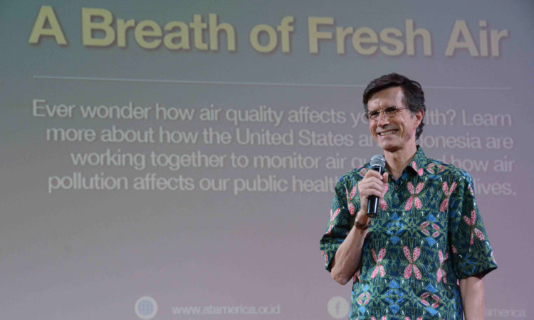 A Breath of Fresh Air: Talking Air Pollution and Health In Jakarta (@America)