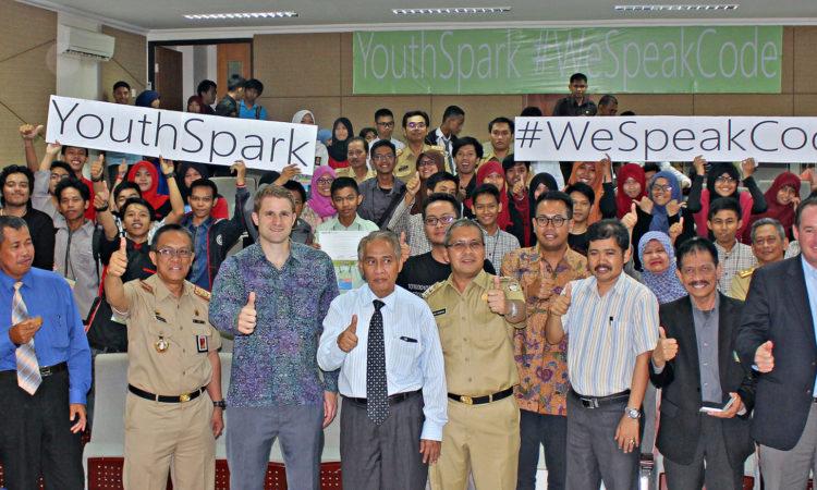 Microsoft Coding Training #WeSpeakCode at State Islamic University During 4th of July Celebrations (State Dept/ Esti Durahsanti)
