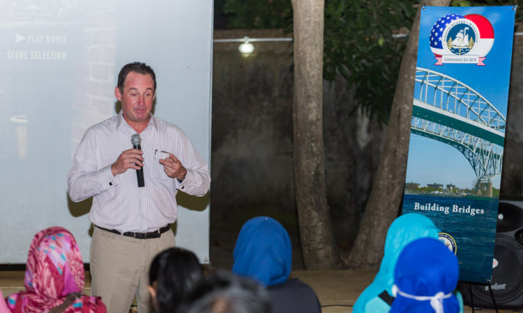 American Film Screening at Rumata Arts Space During 4th July Celebrations in Makassar (State Dept/ Christian Simanullang)