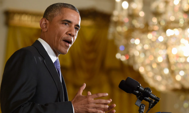 Statement by President Obama on Iran Nuclear Deal (State Dept. / AP Images)
