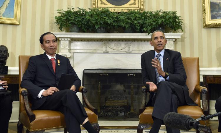 Pernyataan Bersama Presiden Amerika Serikat dan Presiden Republik Indonesia (State Dept. / AP Images)
