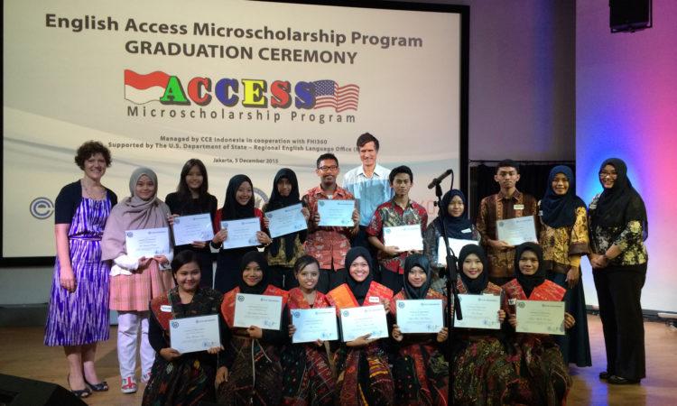 Remarks by Ambassador Blake at the English Access Microscholarship Graduation, Jakarta (State Dept.)