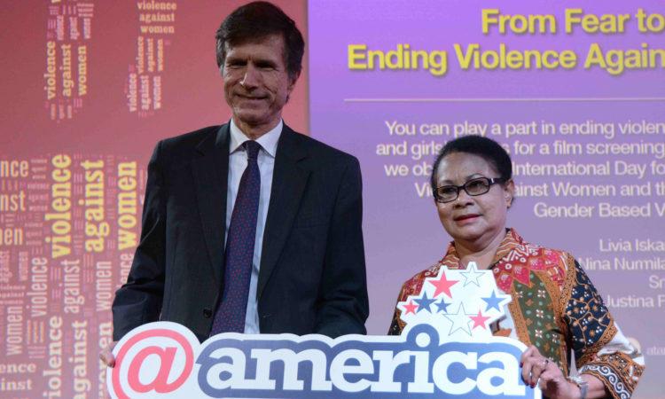 Ending Violence Against Women and Girls, @America, Jakarta
