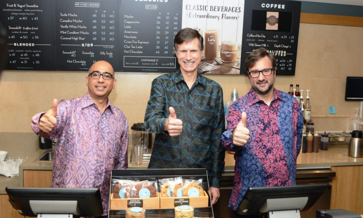 Caribou Coffee Opens 1st Store in Indonesia (State Dept. / Erik A. Kurniawan)