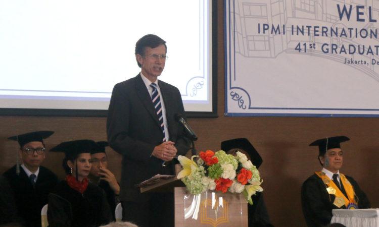 Remarks by Ambassador Blake at the IPMI Graduation, Jakarta (IPMI)
