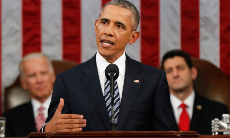 Remarks by President Obama – State of the Union Address (State Dept. / AP Images)