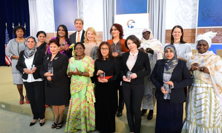 Remarks by Secretary of State John Kerry at the International Women of Courage Awards Ceremony (State Dept. / AP Images)