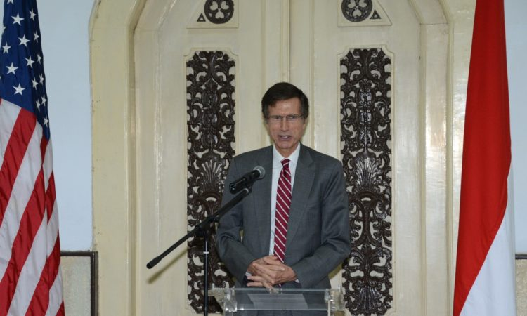 Remarks by Ambassador Blake at the Raden Saleh Mansion, Jakarta (State Dept./ Erik A Kurniawan)