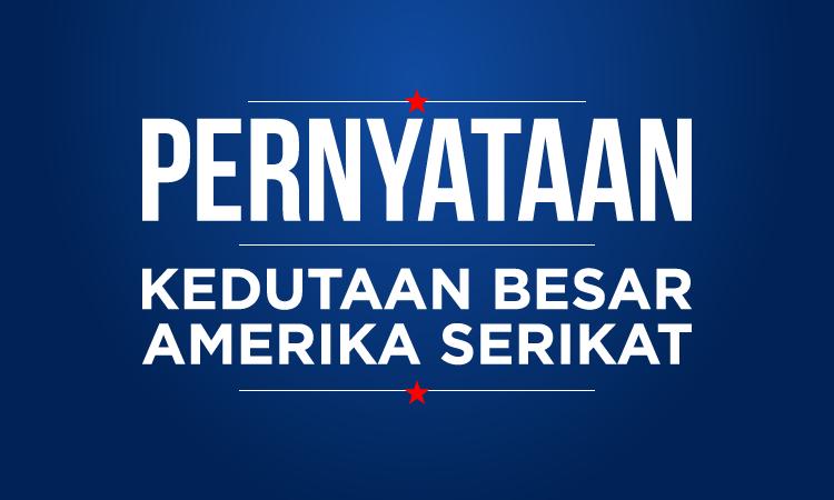 Blank Template - Pernyataan Kedubes AS