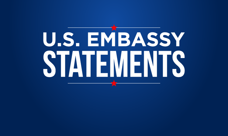 Blank Template - US Embassy Statements