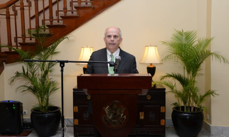 Ambassador Donovan Welcomes American Nobel Laureates to Indonesia (State Dept. / Erik A. Kurniawan)