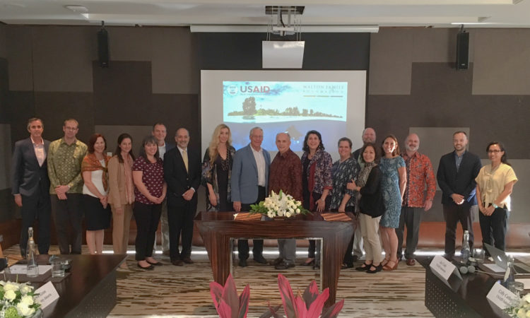 USAID and Walton Family Foundation Launch New Partnership To Protect Indonesia's Fisheries and Marine Biodiversity