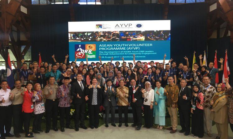 50 Relawan Muda ASEAN Berkumpul di Indonesia Program Ketangguhan Bencana (USAID)