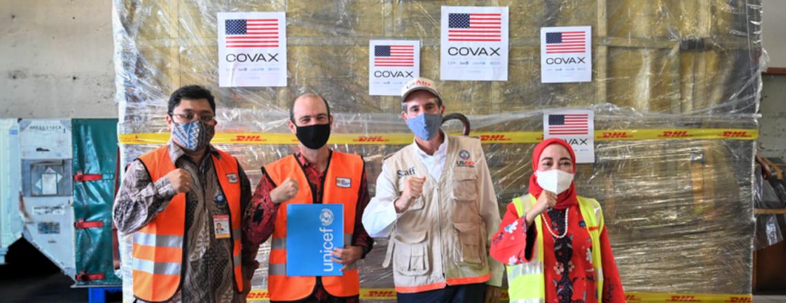 Donasi 4,6 Juta Vaksin Pfizer dari Amerika Serikat untuk Indonesia Mulai Tiba