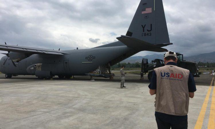 AS Mengumumkan Dana Tambahan 3 Juta Dollar AS untuk Tanggap Bencana Gempa dan Tsunami Sulawesi Tengah (State Dept. / USAID)
